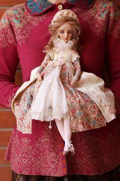 Art doll by Helena Oplakanskaуа  -  HAPPY DIRTHDAY; DEAR LENA! - 04/11