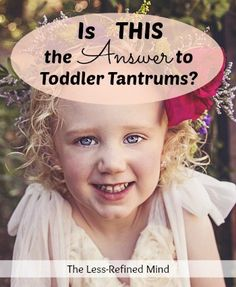 Do your toddler's meltdowns leave you cringing? Are oyu desperately seeking a way to improve their behaviour? If you are at your wits' end looking for a solution to tantrums, read this for a whole new perspevctive on encouring your child to behave better.