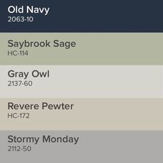 neutral color palette with navy