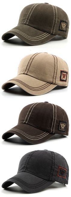 Fashion Mens Unisex Cotton Baseball Hat Casual Sport Visor Snapback Cap Adjustable