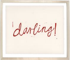 Darling by Hugo Guinness