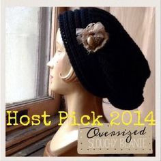 I just discovered this while shopping on Poshmark: Slouchy Oversized Beanie. Check it out!  Size: OS