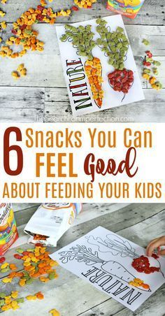 These are all great ideas for simple snacks you can feel good about feeding your kids!