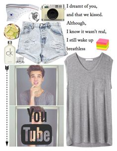 """Joe sugg"" by emilyweb ❤ liked on Polyvore featuring Oakley, OneTeaspoon, Retrò, T By Alexander Wang, Converse and Calvin Klein"