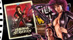 Savage Streets Artwork - Linda Blair.