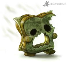 Daily Painting #947. Mold Zombie by Cryptid-Creations.deviantart.com on @DeviantArt