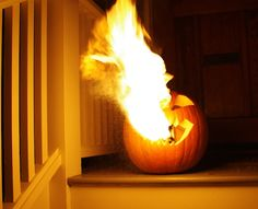 How to Build a Flamethrowing Jack-O'-Lantern