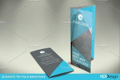 Business Tri-Fold Brochure - SHI by NEXDesign on @creativemarket