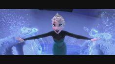 Elsa, making a staircase - frozen Photo