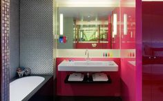Missoni Hotel Bathroom