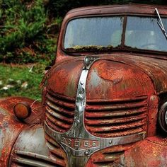I love old trucks                                                                                                                                                     More