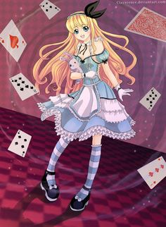 alice in wonderland anime - Buscar con Google