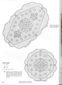 Filet Crochet Charts, Arabesque, Crochet Doilies, Diy And Crafts, Vintage World Maps, Projects To Try, Lace, Doilies, Farmhouse Rugs
