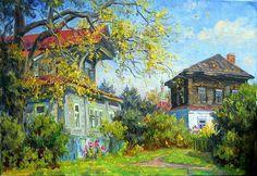 Vasyl Nesterov. Suzdal patios: levkonoe.