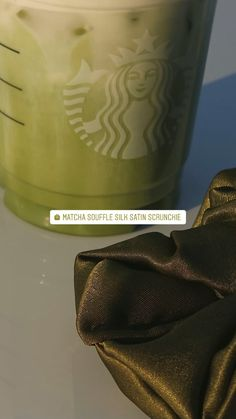 Hair Ties, Silk Satin, Scrunchies, Matcha, Collection, Ribbon Hair Ties