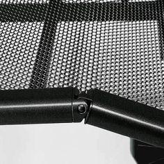 Avek Integra dwarsgespannen spiraalbodem, detail scharnier.