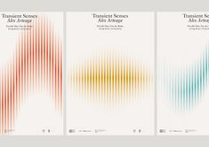 Transient Senses on Behance Book Design, Cover Design, Layout Design, Chart Design, Graphic Design Posters, Graphic Design Inspiration, Web Design Mobile, Exhibition Poster, Identity Design