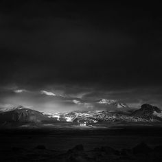 andy lee iceland 5 Breathtaking Black And White Photos Of Icelandic Landscapes