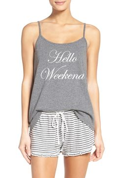 Say hello to the weekend in this supersoft camisole that s ready for  comfortable lounging. Cute d865498f1