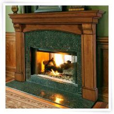 Pearl Mantels Blue Ridge Arched Fireplace Surround