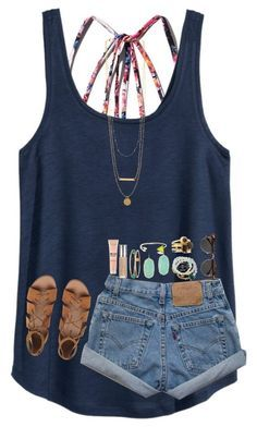 25 Amazing Spring Outfits You Need To Own Now Cute Summer Outfits, Cute Casual Outfits, Spring Outfits, Summer Clothes, Teen Fashion, Fashion Outfits, Womens Fashion, Looks Hippie, Mein Style