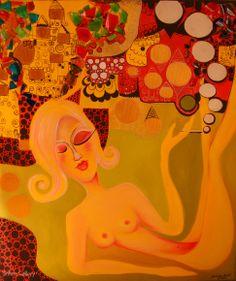 Diva – pictura pe panza #art, #Painiting, #Creative