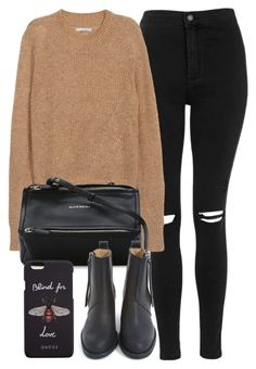 """""""Untitled #6905"""" by laurenmboot ❤ liked on Polyvore featuring Topshop, H&M, Givenchy, Acne Studios and Gucci"""