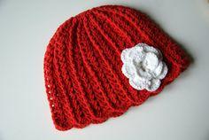 Crochet Baby Hat Baby Girl Hat Newborn Beanie Baby by BambinoStore