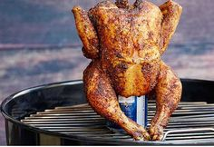Beer Can Chicken with Mustard Dressing - Real Recipes from Mums