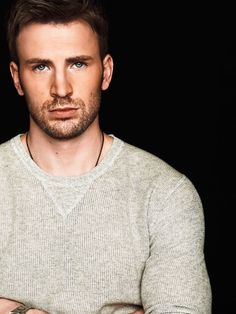 chris evans--these are sex eyes if i've ever seen them
