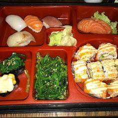 Web designers can learn from Japanese food presentation - fabulous!  #Hokkaido in #Celbridge #sushi #bento