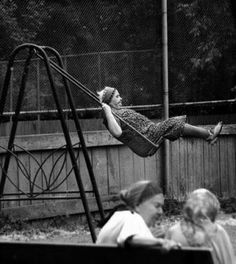 Playful.  I love this photograph.