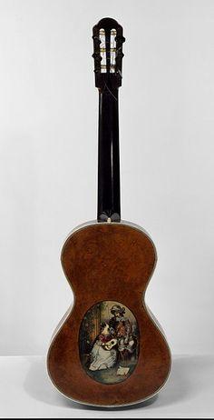 Back of Guitar. Spain, The Victoria & Albert Museum Making Musical Instruments, Barcelona City, Ukulele, Violin, Guitar For Beginners, Vintage Guitars, Victoria And Albert Museum, The Originals, Collection