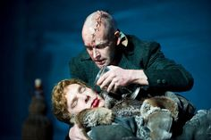Jonny Lee Miller and Benedict Cumberbatch in 'Frankenstein', National Theatre Southbank, 2011 (directed by Danny Boyle)
