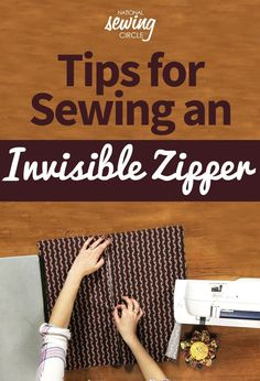 Sewing an invisible zipper into a garment can be intimidating, however it doesn't have to be trickier than sewing a regular zipper. Nicki LaFoille shows you how to insert an invisible zipper from start to finish, sharing several tips for sewing zippers along the way.