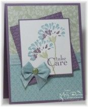 """Stampin' Up! SU by Mary Brown, stampercamper **** SU """"Love & Care"""" set from the summer mini, retired (dup pin)"""