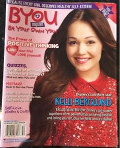 """~Glamamama's Goodies~: BYOU """"Be Your Own You"""" Magazine for teens and tweens Review plus a subscription giveaway #giveaway #win #contest"""