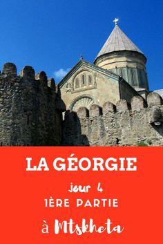"""Etape à Mtskheta, capitale religieuse de la #Géorgie. Mtskheta, c'est un peu là où réside l'âme de la Géorgie. C'est ici que Sainte-Nino """"la révélatrice"""" vint convertir la reine d'Ibérie, l'un des royaumes précurseur de la Géorgie et ainsi en faire l'un des premiers pays ayant le christianisme comme religion d'État. Et depuis le IVe siècle, c'est dans cette ville que se trouve le siège de l'Église géorgienne. #georgia Bon Plan Voyage, Beau Site, Georgia On My Mind, Voyage Europe, Blog Voyage, Ainsi, Belgium, Comme, Religion"""