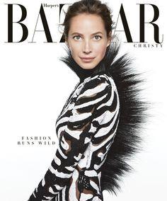Christy Turlington cover for US Harpers Bazaar June/July 2013