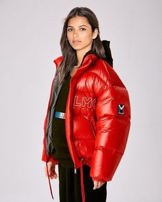 Down Winter Coats, Winter Jackets, Down Suit, Puffy Jacket, Jackets For Women, Leather Jacket, Girls, Point, Sexy