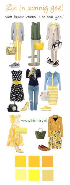Zin in zonnig geel. Iedere vrouw kan geel dragen, ook jij als koel kleurtype. #yellow