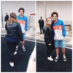 Louis | He's wearing the Adidas jacket fans gave him!