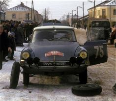 1965 Rajd Monte Carlo - Robert Neyret i Terramorsi – Citroen DS Citroen Car, Rally Car, Monte Carlo, Automobile, Monster Trucks, Racing, Cars, Coffee Break, Nostalgia