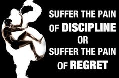 weight-loss-motivation-fitness-quotes-suffer-the-pain-of-discipline-or-the-pain-of-regret - weight-loss-motivation-fitness-quotes-suffer-the-pain-of-discipline-or-the-pain-of-regret. This Is Your Life, Way Of Life, Fitness Motivation Quotes, Weight Loss Motivation, Workout Motivation, Workout Quotes, Body Motivation, Exercise Quotes, Weekend Motivation