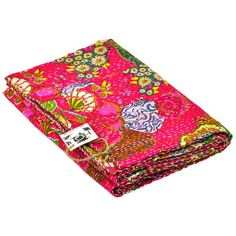 I pinned this Twin Kantha Quilt in Fuchsia from the HOLI event at Joss and Main!  Give me quilts, quilts, and more quilts!!!