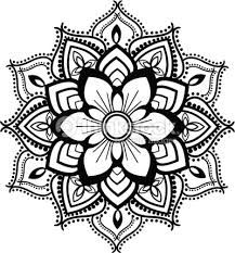 Tattoo Design royalty-free tattoo design stock vector art & more images of backgrounds Mandala Tattoo Design, Dotwork Tattoo Mandala, Design Tattoo, Mandala Doodle, Mandala Drawing, Mandala Art, Colorful Mandala Tattoo, Free Tattoo Designs, Henna Designs