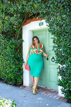 Erica Lauren, Fine Girls, Trendy Plus Size Fashion, Curvy Plus Size, Stitch Fix Stylist, Curvy Girl Fashion, Curvy Models, Sexy, Dresses For Work