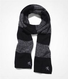RUGBY STRIPE WOOL BLEND SCARF at Express