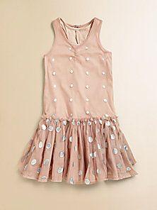 Stella McCartney Kids - Girl's Bejeweled Tank Dress - Saks Fifth Avenue Mobile
