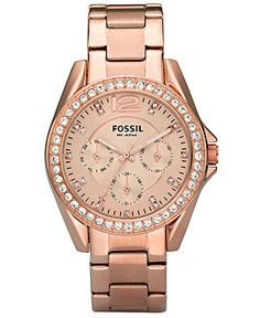 I Fossil watches! sarahkater I Fossil watches! I Fossil watches! Stainless Steel Watch, Stainless Steel Bracelet, Bracelets Roses, Rose Watch, Boyfriend Watch, Fru Fru, Fossil Watches, Women's Watches, Bracelets